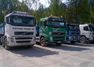 Kuljetuspalvelut Tampereen seudulla